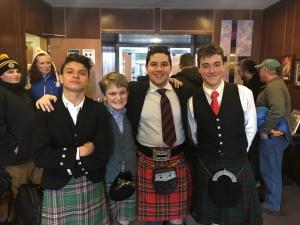 David A, Sebastian, Can and Benjamin