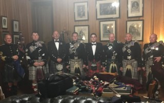 Queens pipers at Balmoral 2016